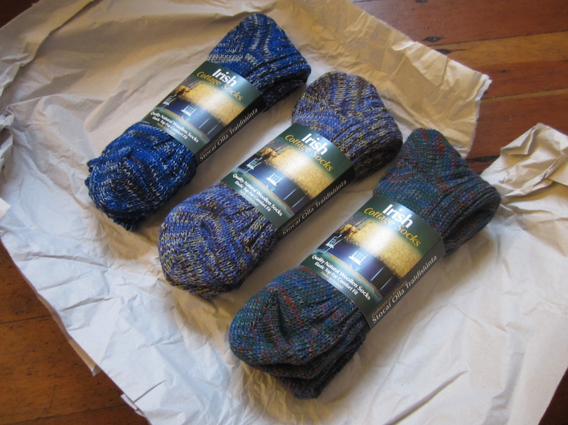 colour in winter the amazing technicolour beyond cosy hand knitted rh charlieporter net Irish Men's Socks Irish Cottage Look