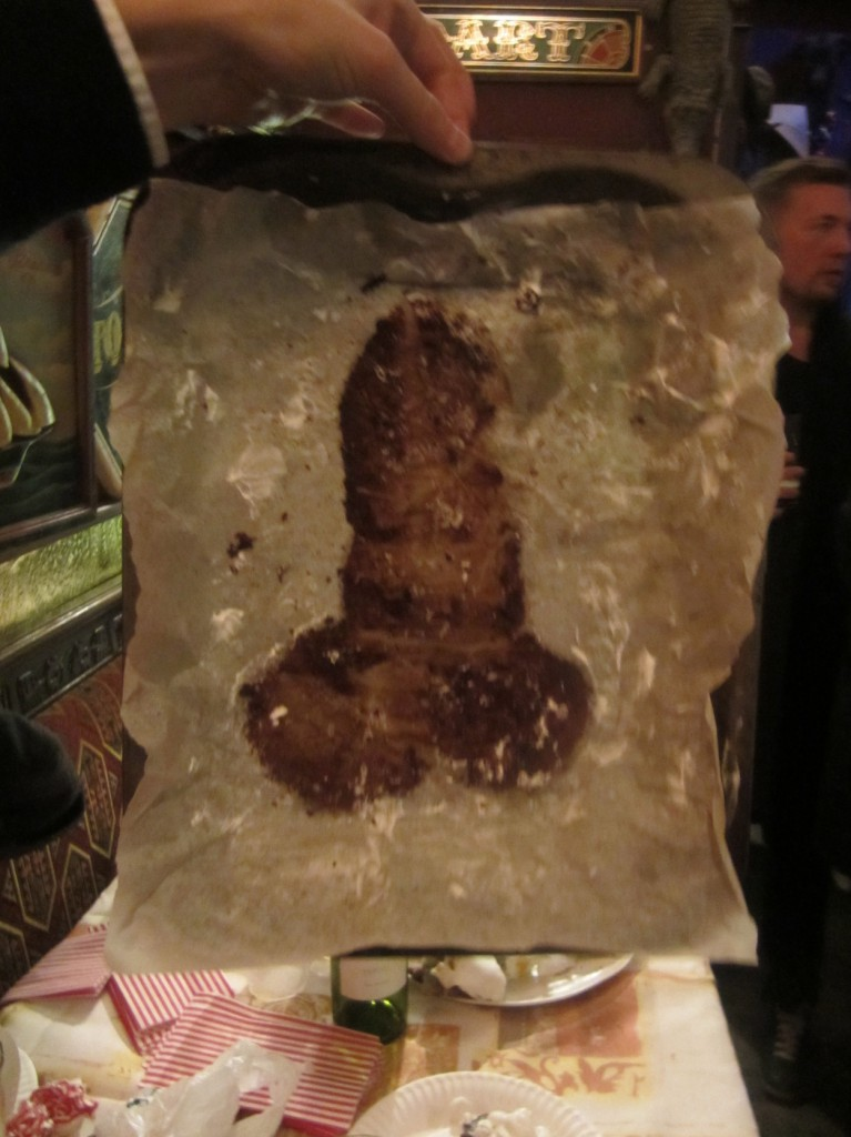 The Dissection Of A Penis Shaped Focaccia Plus Last Night